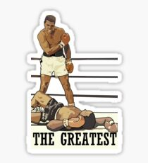 Muhammad Ali The Greatest Boxer Sticker