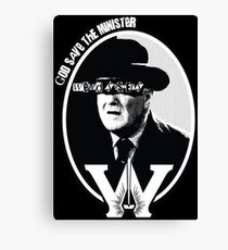 God Save the Minister Canvas Print
