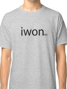 iwon pro - Cool Funny Sports Gamers Pool Players Champion Winner Designed Shirts And Gifts Classic T-Shirt