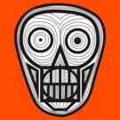 Psychedelic Skull by khamarupa