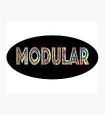 modular Photographic Print
