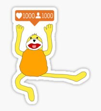 1000 Followers for Flat E! Sticker