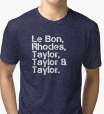 Duran Duran [line-up] Tri-blend T-Shirt