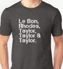Duran Duran [line-up] T-Shirt