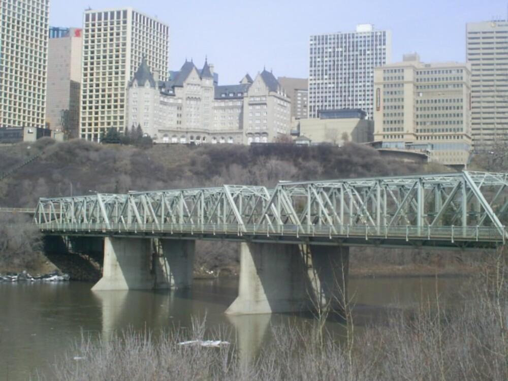 low level bridge and city skyline by oilersfan11