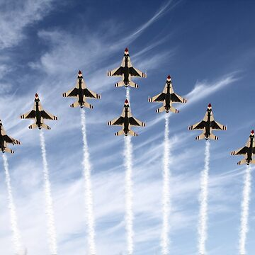 The US Air Force Thunderbirds by aviationart