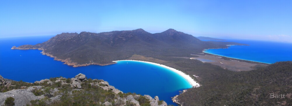 Wine Glass Bay, Tasmania by Bartt