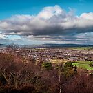 View over Otley by Colin Metcalf