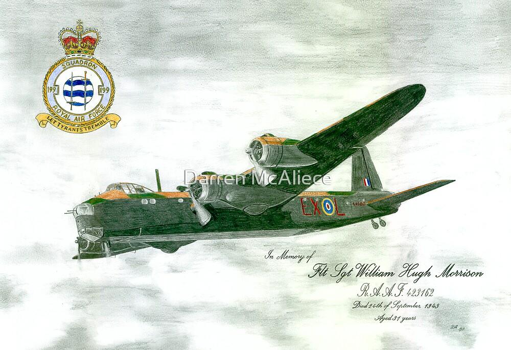 RAF 199 Squadron by Darren McAliece