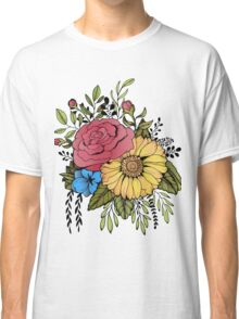 SUNFLOWER & ROSE Classic T-Shirt