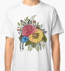 SUNFLOWER & ROSE Classic T-Shirt