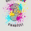 Oh, the Hue Manatee by wanderingkotka