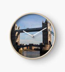 Tower Bridge, London, England Clock