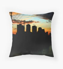 Makati Dusk Throw Pillow
