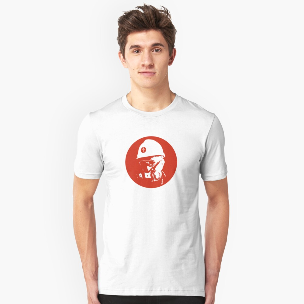 Enforcing Bad Craziness Since 1971 Unisex T-Shirt Front