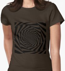 HYPNOTIC SPIRAL Womens Fitted T-Shirt