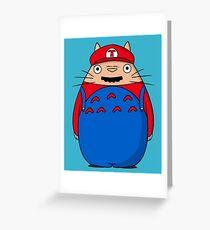Super Toto Bros Greeting Card