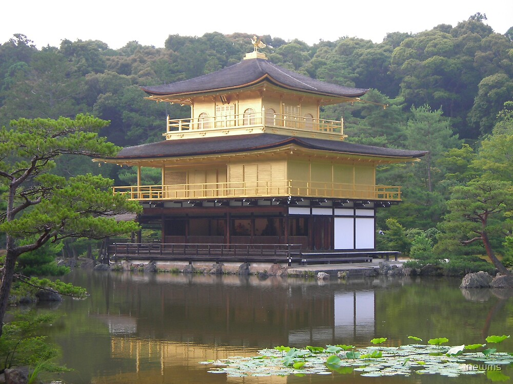 Kinkakaji, The Golden Pavillion by newms