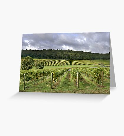 Pemberton Vineyard - Western Australia  Greeting Card