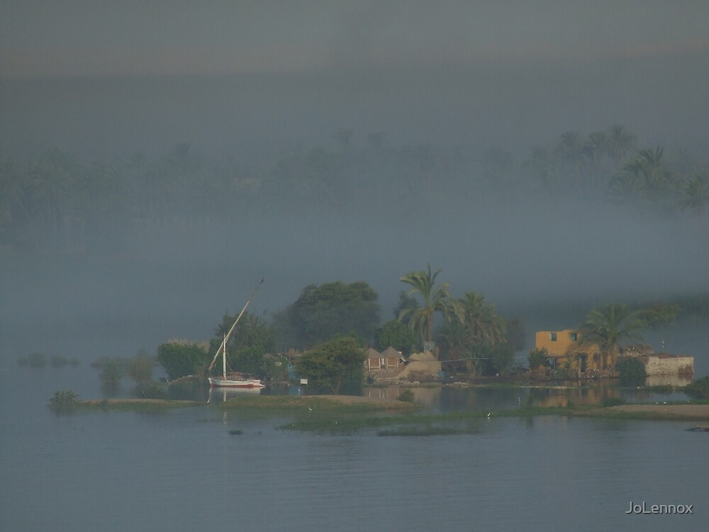 Misty Morning On The Nile by JoLennox