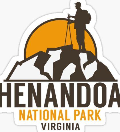 SHENANDOAH NATIONAL PARK VIRGINIA HIKING HIKER HIKE MOUNTAINS Sticker