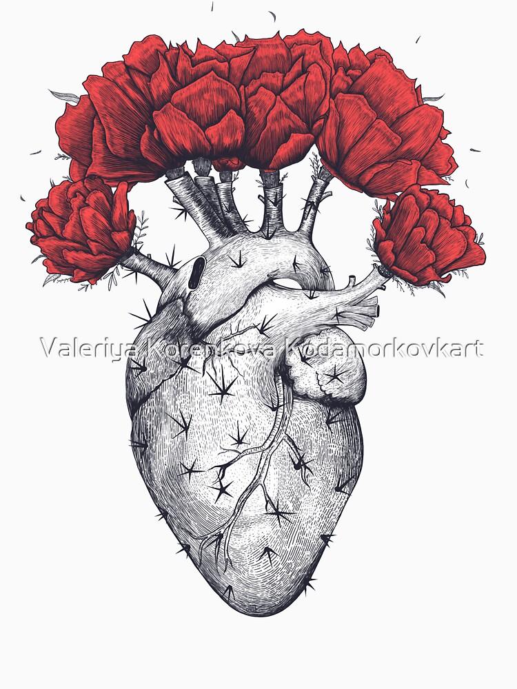 Cactus heart by kodamorkovkart