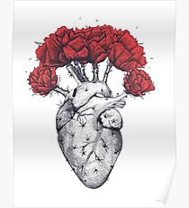 Cactus heart Poster