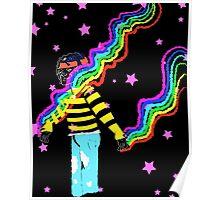 "Kid Cudi Passion Pain /& Demon Slayin/' Cover Poster Art Print 20×20 24×24 32×32/"""