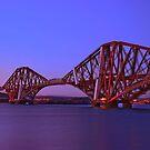 Forth Bridge-Queensferry-Scotland by Chris Clark