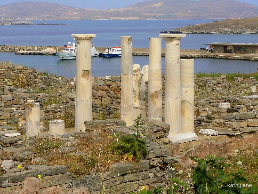 Ruins of Delos by kathyjane