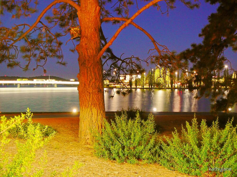Canberra by Night by kathyjane