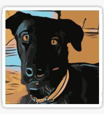 Max the dog Sticker