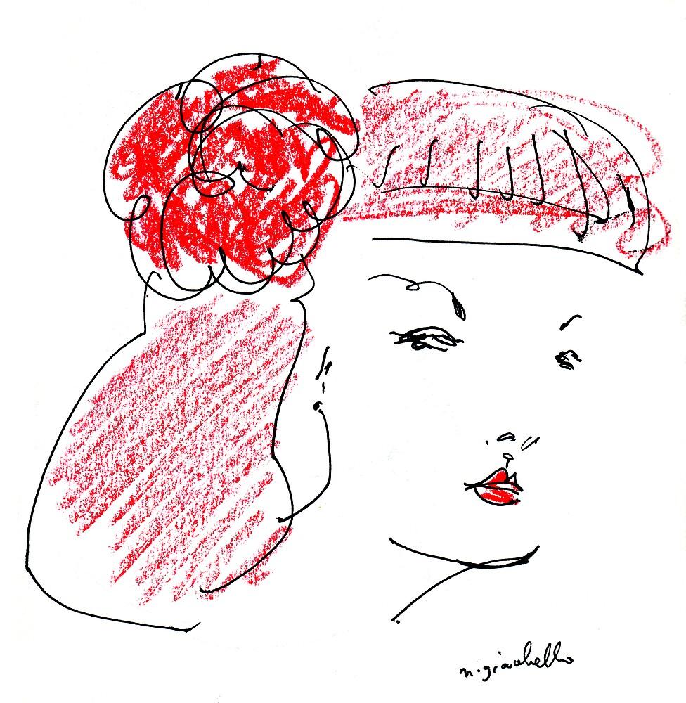 Camellia by michelle giacobello