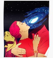 True Love - Cosmic Poster