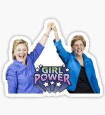 "HRC and Liz ""Girl Power"" Sticker"