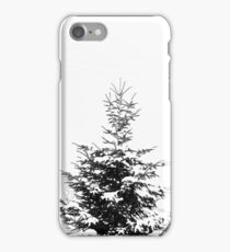 Snow Covered Fir Tree iPhone Case/Skin