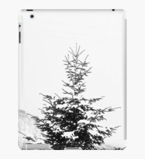 Snow Covered Fir Tree iPad Case/Skin