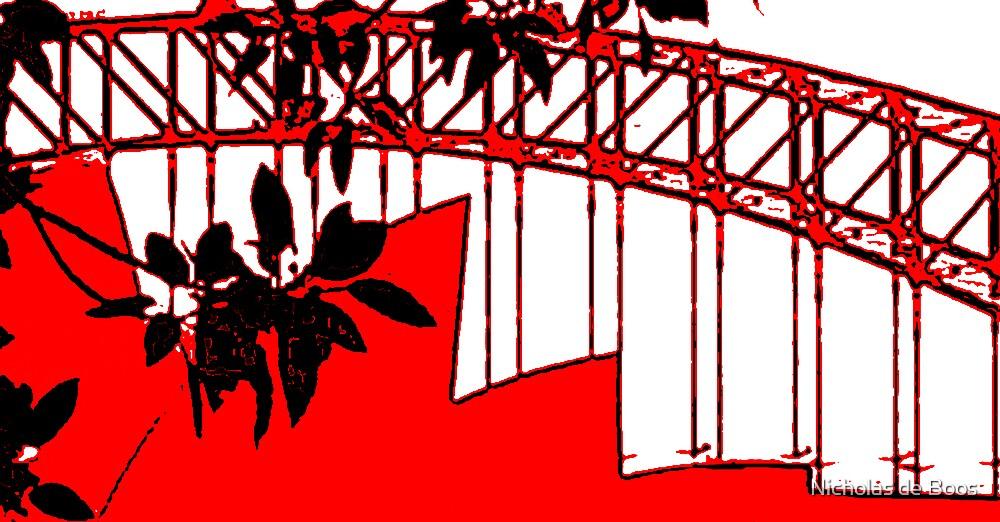 Landmarks in Red by Nicholas de Boos