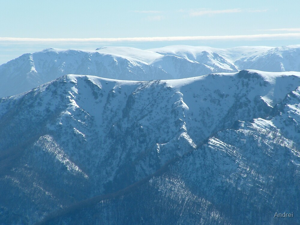 View from Mt.Feathertop 2005 by Andrei