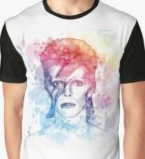 Bowie painting Graphic T-Shirt