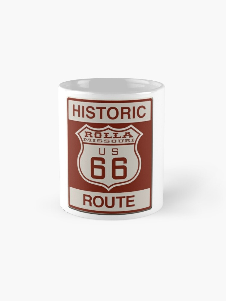 Alternate view of Rolla Route 66 Mugs