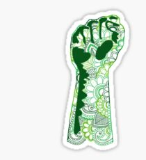 Flower Power to the People - Henna Paisley Sticker