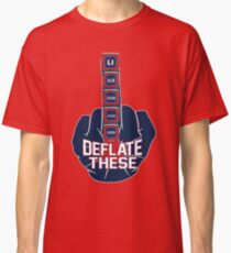 Deflate These - 5 Rings Middle Finger Fist Classic T-Shirt