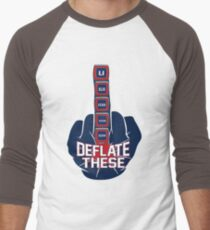 Deflate These - 5 Rings Middle Finger Fist T-Shirt