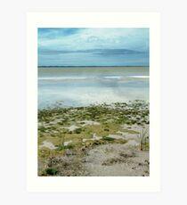 landscapephotocomp, Salt Lake Art Print