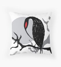 Buzzard Throw Pillow