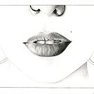 lips by Amanda Irene
