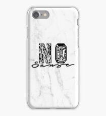 No Sense - Justin Bieber iPhone Case/Skin