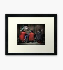 Agra Station Framed Print