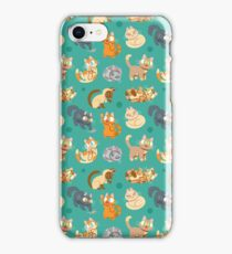 Whole Lotta Cat (Natural version) iPhone Case/Skin